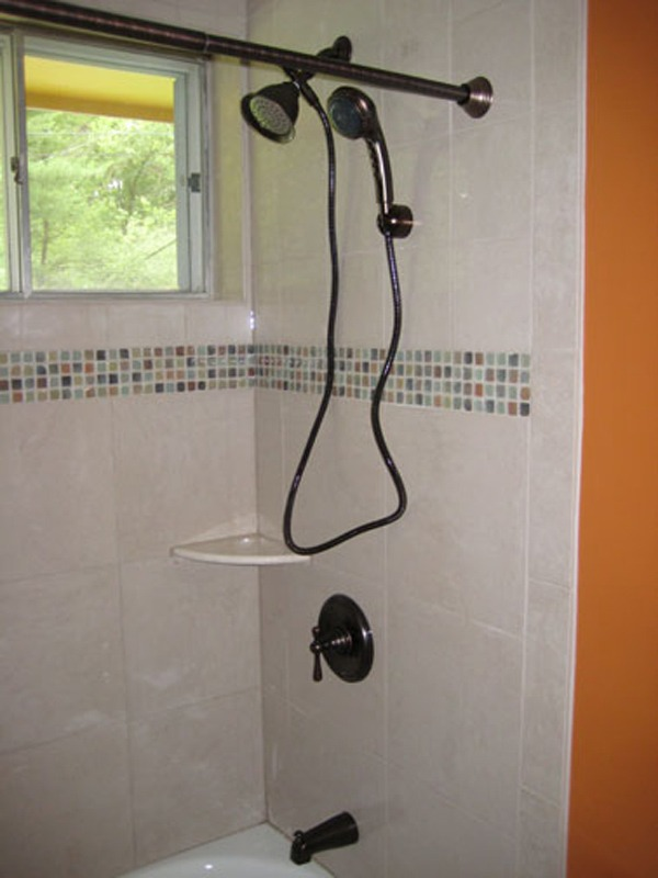 Bathroom remodel hand held examples for Bathroom remodel examples