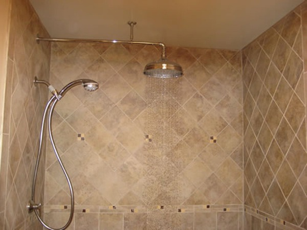 dual rain shower head. shower  I did a search for ceiling head installation Roselawnlutheran