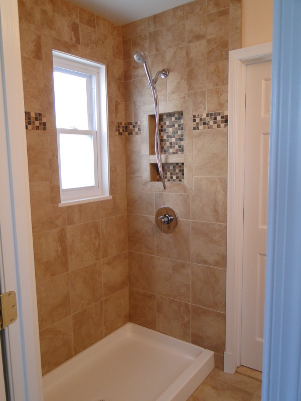 Remodel Bathroom With Window In Shower bathroom remodel - window in shower