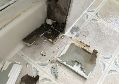 Owners Bathroom Demo