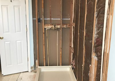 Owners Bathroom Build
