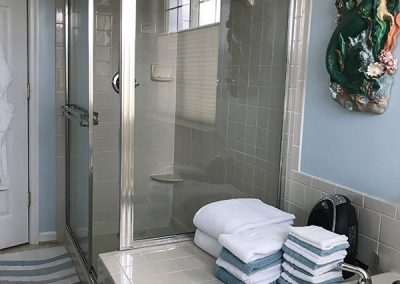 Shower with Seat Before