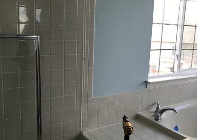 Shower with Seat Demo