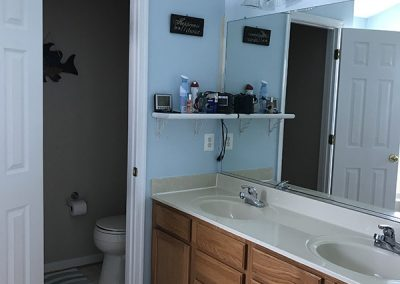 Owners Bathroom Before