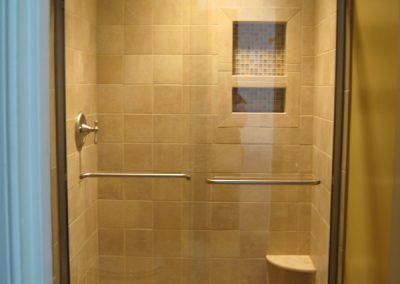 Brushed Nickel with Crystal Mosaic